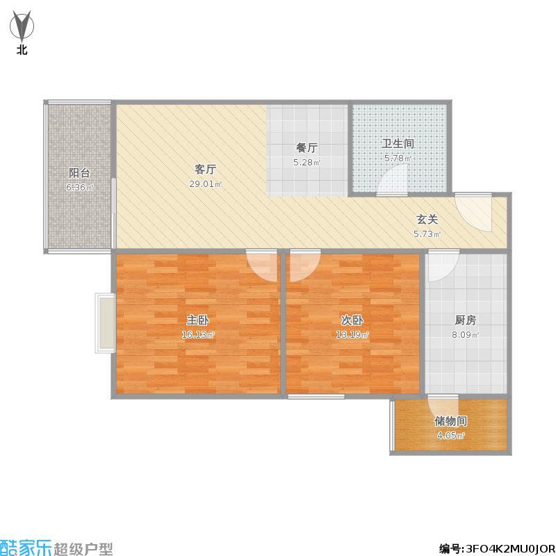 丽水嘉园80方两室一厅