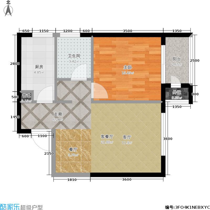 龙庭时代1号楼d户型