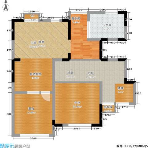 大地12城1室0厅1卫0厨181.00㎡户型图
