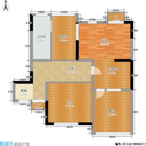大地12城1室0厅1卫0厨187.00㎡户型图