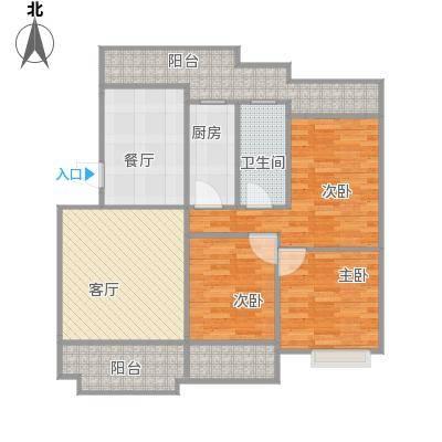凯光中央华府多层6楼户型图