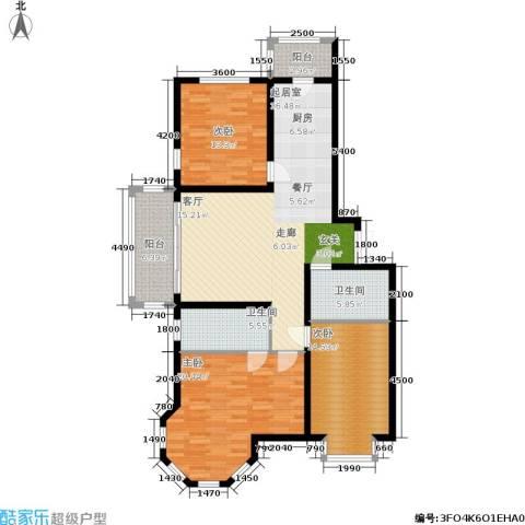 群力观江国际3室0厅2卫0厨149.00㎡户型图