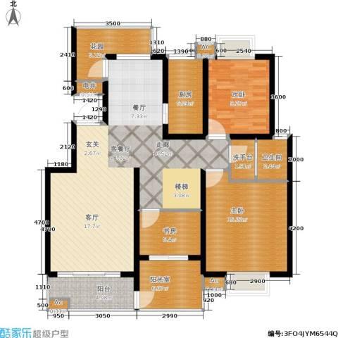 颐和盛世3室1厅1卫1厨162.00㎡户型图