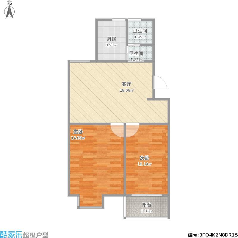 翰林世家79平两室两厅