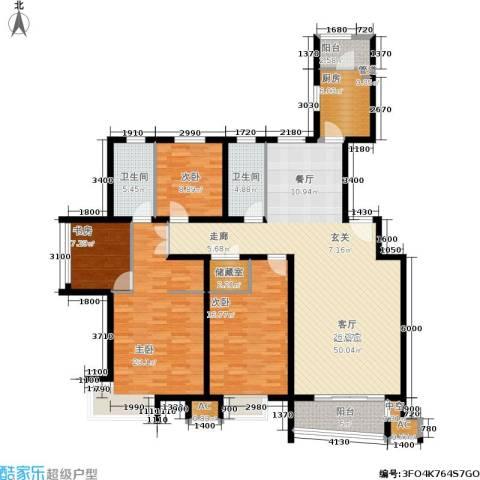 兴蒙时代广场4室0厅2卫1厨152.78㎡户型图