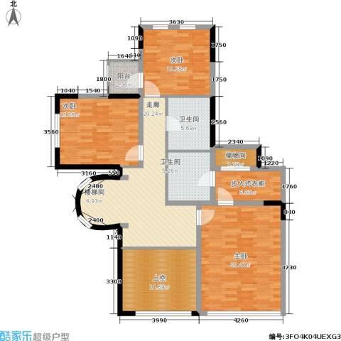 万城华府3室0厅2卫0厨140.00㎡户型图