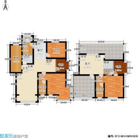 蓝调沙龙雅园5室1厅3卫1厨203.00㎡户型图