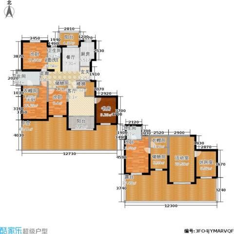 香江湾5室0厅3卫1厨272.00㎡户型图