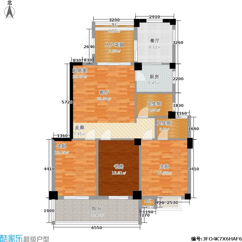 左海帝景3号楼2F-17F0305单元户型