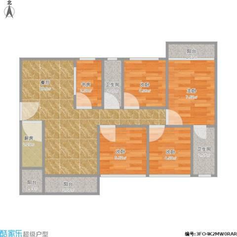 远景家园5室1厅2卫1厨79.00㎡户型图