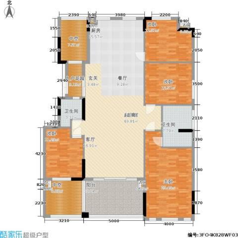 劲嘉金棕榈湾4室0厅2卫0厨179.00㎡户型图