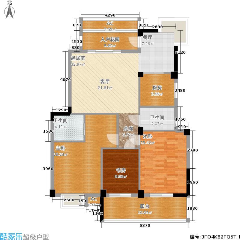 左海帝景5号楼1F-10F01单元户型