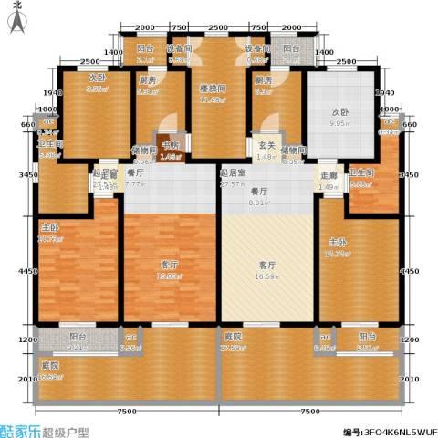洛卡小镇三期4室0厅2卫2厨213.00㎡户型图