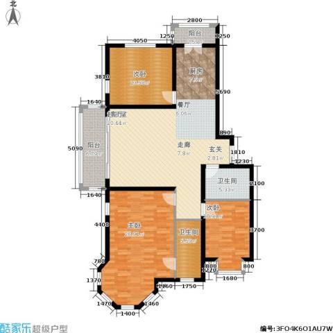群力观江国际3室0厅2卫0厨164.00㎡户型图