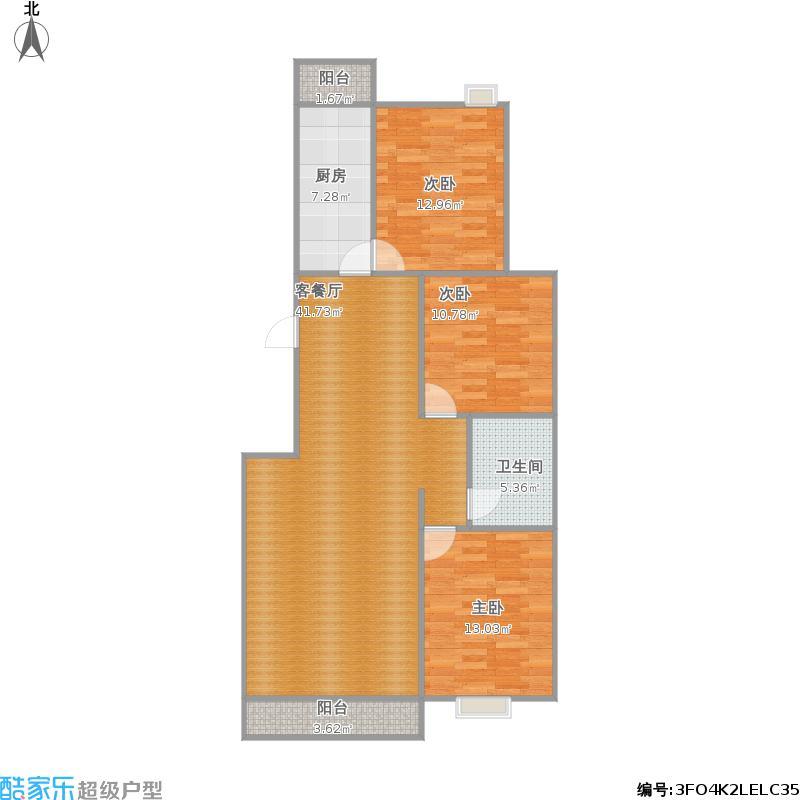 12号楼三室两厅一卫