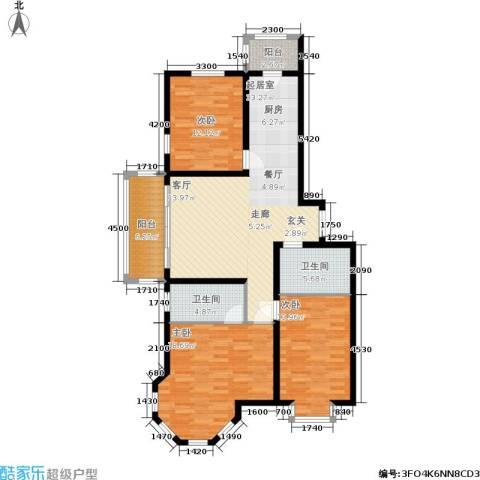 群力观江国际3室0厅2卫0厨139.00㎡户型图