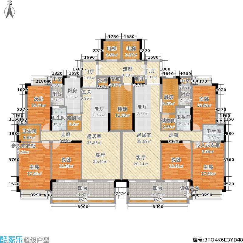 E区25、28标准层平面图