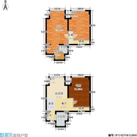 拾光汇3室0厅2卫0厨150.00㎡户型图