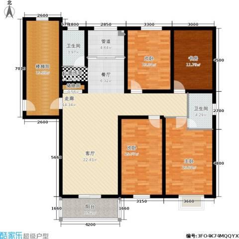 盛世春天4室0厅2卫0厨196.00㎡户型图