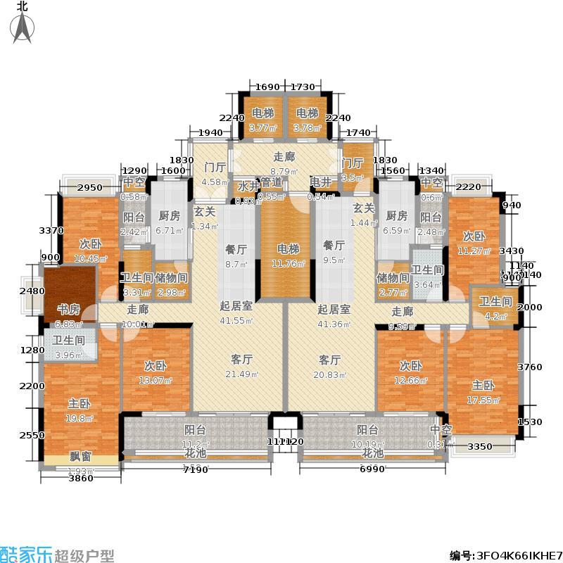 E区24、26、27标准层平面图