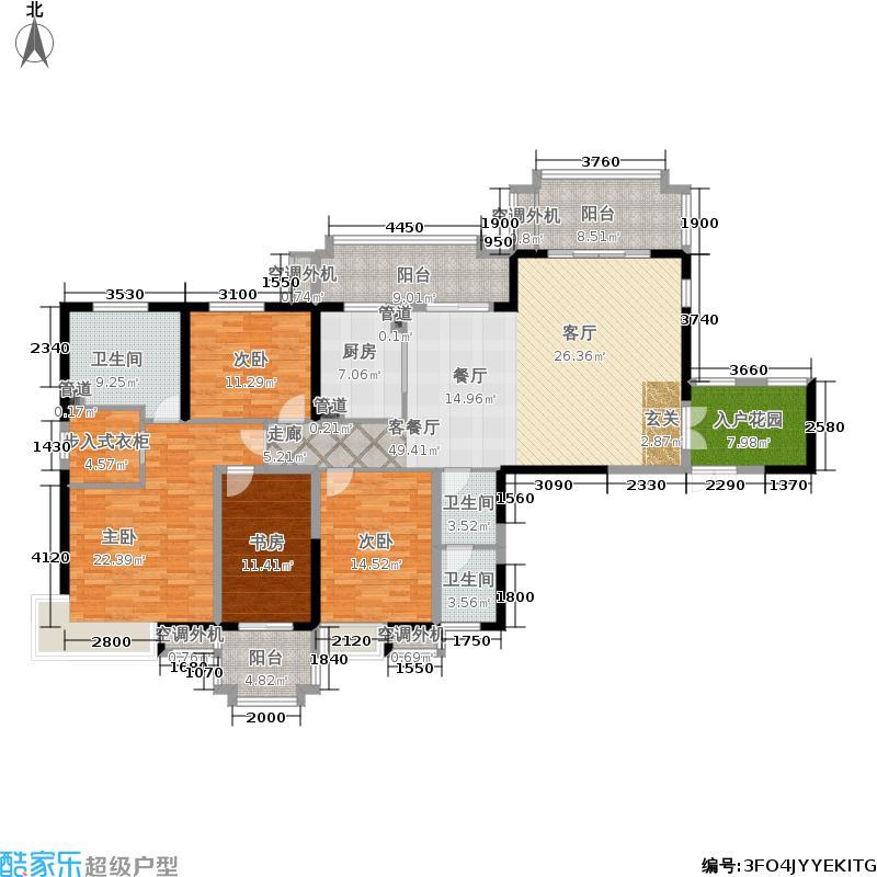 中海凤凰熙岸192.00㎡一期6号楼1-24层C5C3户型