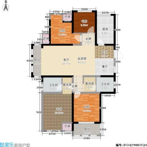中天锦庭4室0厅2卫1厨155.00㎡户型图