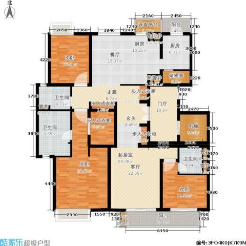 尚浦领世3室0厅3卫0厨190.00㎡户型图