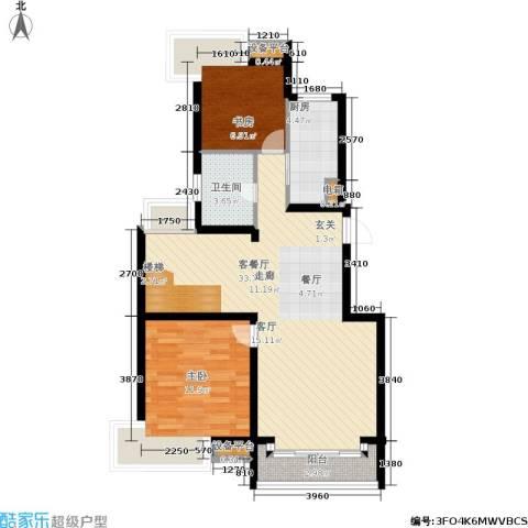 蓝天小区2室1厅1卫1厨175.00㎡户型图