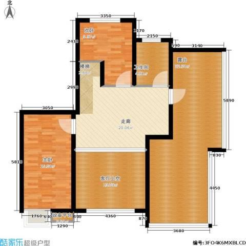 蓝天小区2室0厅1卫0厨219.00㎡户型图