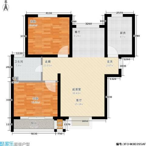 安联水晶坊2室0厅1卫1厨115.00㎡户型图