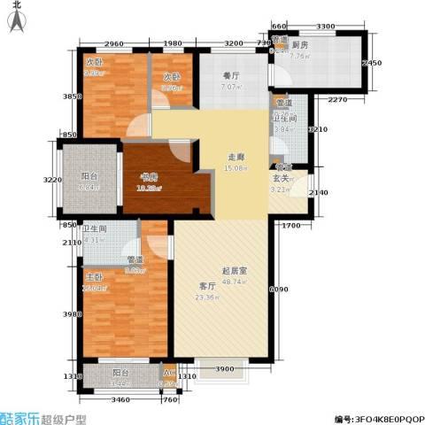 安联水晶坊4室0厅2卫1厨134.00㎡户型图