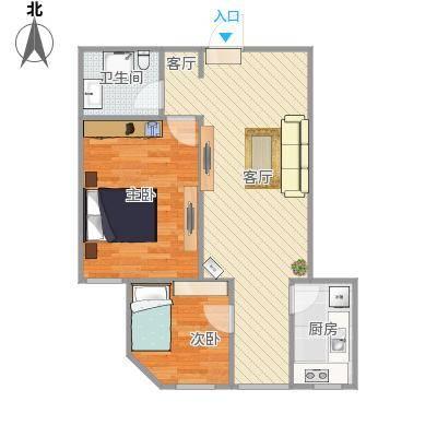北街家园D区公寓户型图