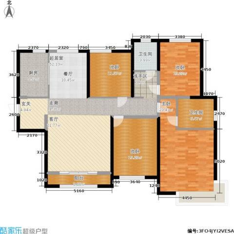 雅仕兰庭4室0厅2卫1厨154.00㎡户型图