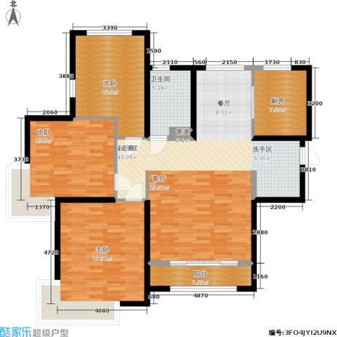 雅仕兰庭3室0厅1卫1厨116.00㎡户型图