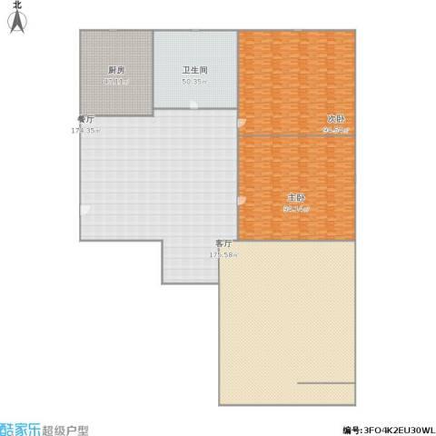 林大北路9号院2室2厅1卫1厨810.00㎡户型图