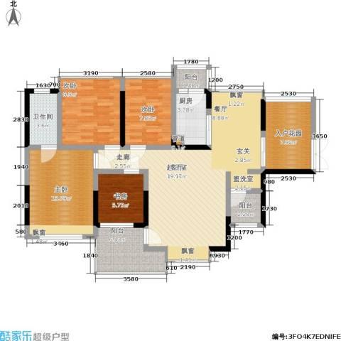 纳威人的幸福4室0厅1卫1厨118.00㎡户型图