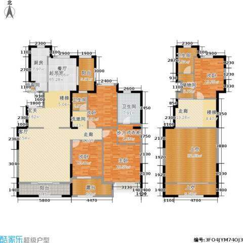 曲江观山悦4室0厅3卫1厨235.00㎡户型图