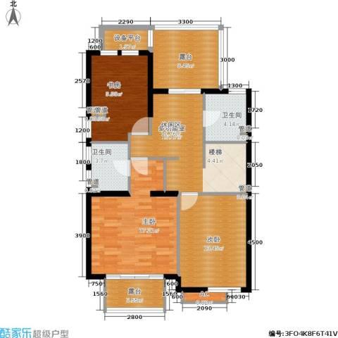 世爵源墅3室0厅2卫0厨181.00㎡户型图