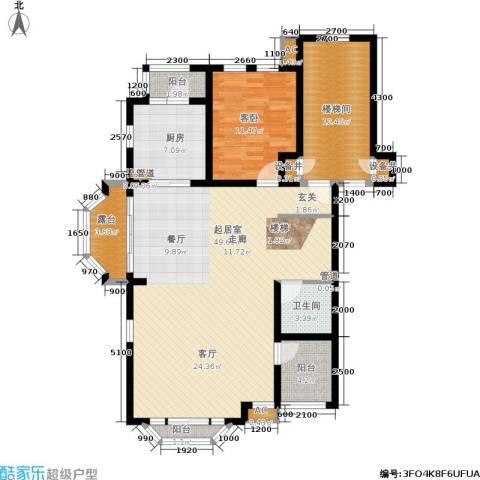 世爵源墅1室0厅1卫1厨181.00㎡户型图
