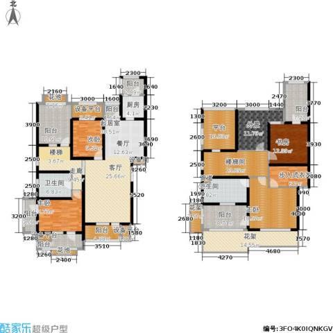 百旺茉莉园4室0厅2卫1厨338.00㎡户型图