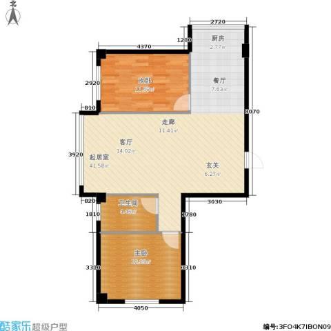 新城丽都2室0厅1卫0厨95.00㎡户型图