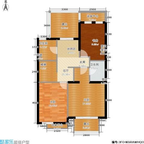 世爵源墅3室0厅2卫0厨180.00㎡户型图