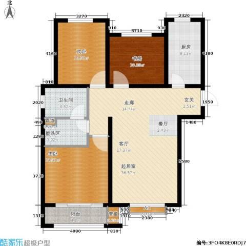 安联水晶坊3室0厅1卫1厨139.00㎡户型图