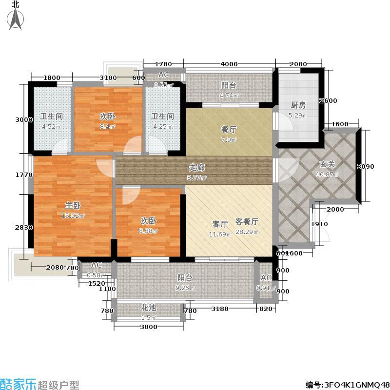 荣盛海湾郦都荣盛・海湾郦都4、5号楼07、106、7号楼01、02、05户户型