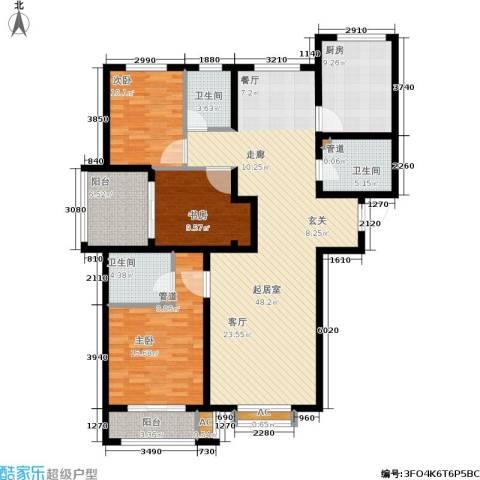 安联水晶坊3室0厅3卫1厨169.00㎡户型图