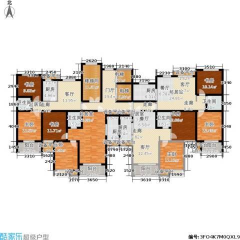 水晶东座8室0厅4卫4厨273.97㎡户型图
