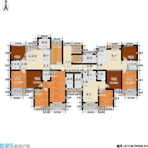 水晶东座8室0厅4卫4厨290.53㎡户型图