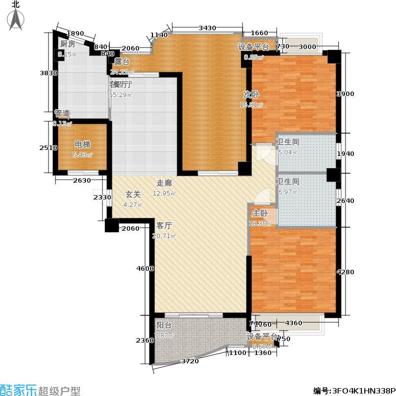 福隆城133.33㎡1#09单元/4#01单元3室户型
