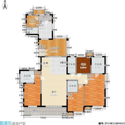 星河国际4室0厅5卫1厨227.00㎡户型图