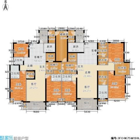 龙湾6室2厅6卫2厨547.00㎡户型图
